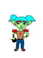 Wow Goblin Chibi by french-toilet-guy