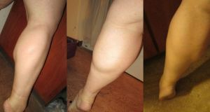 20 inch calves from 3 different angles by kukuramutta