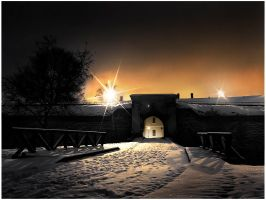 Petrovaradin's fortress.. by spns