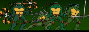 TMNT Cover 2 by horskraz