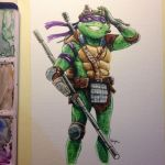 TMNT Techno Geek by PsychedelicMind
