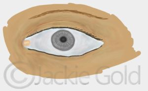 Eye - practicepainted by jackiskarismas
