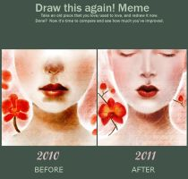 Before and after meme by witchcats