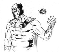 MAGNETO by COUNTPAGAN