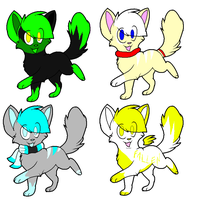 Kitten pointables by xxRoxas-KeyofDestiny