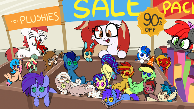 Plushie Sale by wedraw4boops-admin