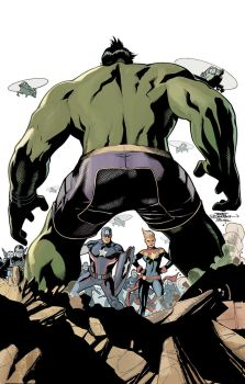 Totally Awesome Hulk 9 Cover by TerryDodson