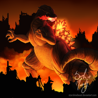 Kaiju Assault: Final Wars Godzilla by StarshineBeast
