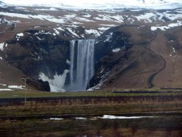 Skogafoss Waterfall by Topaz172