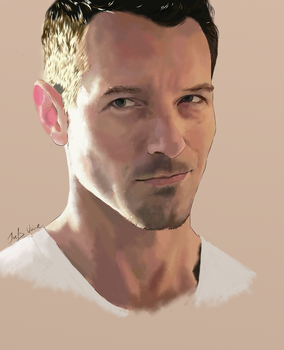Comission for spookybibi: Ian Bohen by JoelsVoice