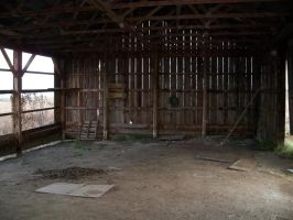 Empty Barn by da-joint-stock