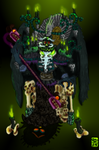 Xibalba's throne of forgotten tar by Ohthehumanityplz