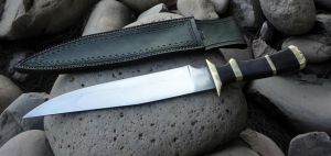 Bowie knife by HellfireForge