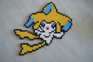 Jirachi Perler Beads by GFchamp