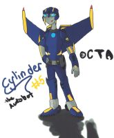 Cylinder TFA Style Colored by Cylinder-the-Autobot