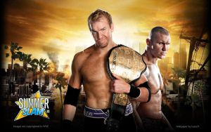 Summerslam: Christian vs Randy by i-am-71