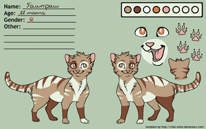Fawnpaw Ref by Ask-FlameTail