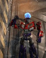 TFA Optimus Prime by 3niteam