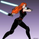 A Force In Her Own Right by Leppardra