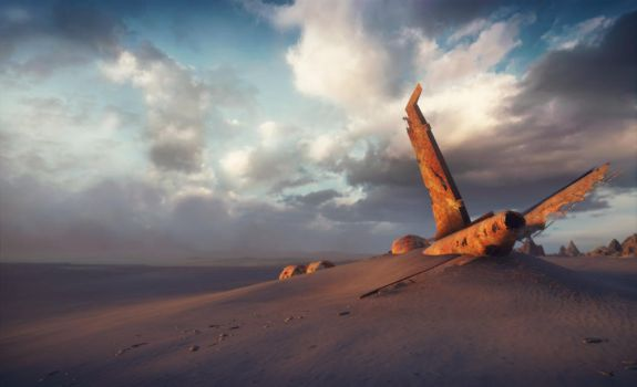 Crush in the desert by JacobHargriev