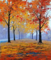 Vibrant Autumn Colors by artsaus