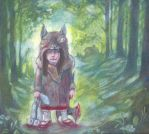 red riding hood by miorats
