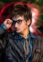 The Tenth Doctor by miss-mustang