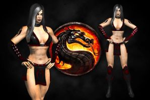 Sareena MK9 style, MKA costume 2 by SrATiToO