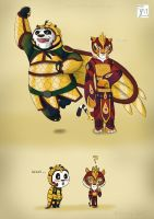 Po and Tigress by Taylor-Denna