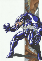 Marvel Villains Speed Paint Week 004: VENOM by MAD-project