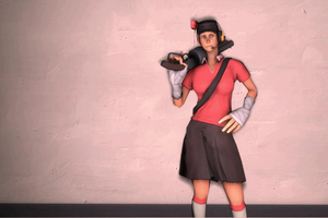 SFM - I'm Female scout by wnses286