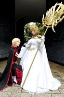 :Princess and Her Knight: by sakurazaki