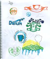 sketchpad doodles again by danum