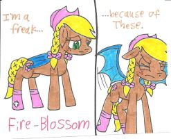 Gift: Fire-Blossom by cmara