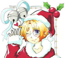 ++ APH:: MERRY LATE CHRISTMAS. by ephemeralDELUSiON