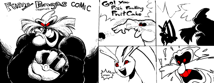 funny pokemon robotnik parody very funny comic by DummyCorps