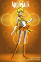 Sailor Applejack by DreamNotePrincess