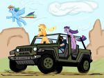 Touring Equestria by Silent-Running