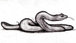 Conan - Satha, Pictish Ghost-Snake by KingOvRats