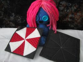 Resident Evil Potholders by Rei2jewels