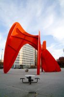 Calder Statue by usagicassidy