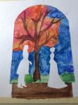 Stained Glass Love by hermione4g