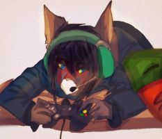 Video games by Bacon-Paws