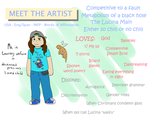 Meet the Artist! Hello :D by SoraIsMyHomeboy