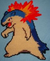 Typhlosion by nekorequest