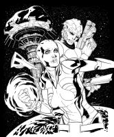 MASS EFFECT REDEMPTION by OMARFRANCIA