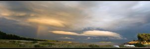 A Panorama with Rainbow by Rempstaar