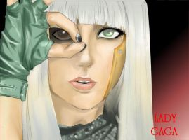 Lady Gaga: Poker Face by zepolnylarom