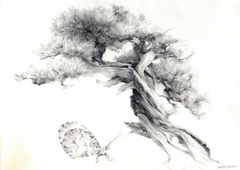Penjing and Psyche by DiabolicalChainsaws
