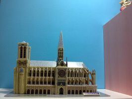 Notre Dame de Paris - 3D Model by peppy-heppy